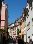 Stemningsbillede fra den gamle bydel i Lindau.