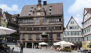 Tübingen, Am Markt, Rathaus