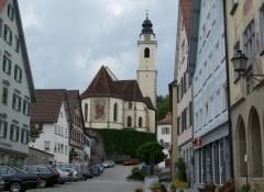 Horb, Marktplatz, Stiftskirche Heilig Kreuz