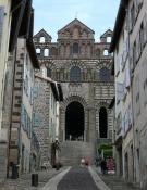 Le Puy, Rue des Tables et la Cathédrale