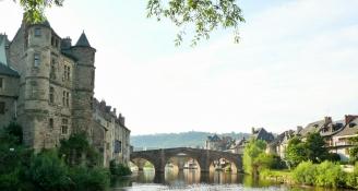 Espalion, Le Vieux Palais und Pont Vieux