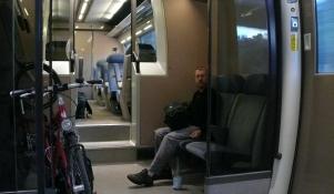 im Zug nach Clermont- Ferrand