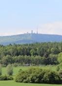 Blick auf den Großen Inselberg
