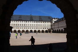 Gotha, Schloss Friedenstein, Innenhof