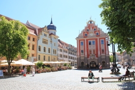 Gotha, Hauptmarkt mit Rathaus