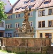 Gotha, Brunnen am Hauptmarkt