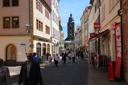 Gotha, Markstraße mit Margarethenkirche