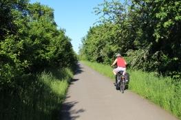 Radweg hinter Hopfgarten