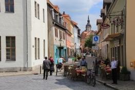 Naumburg, Blick vom Dom zur Bürgerstadt