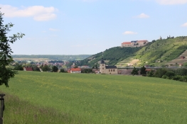 Schloss Neuenburg über Freyburg