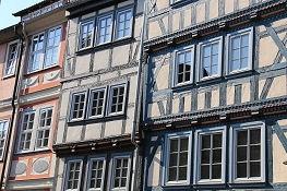Bad Langensalza, Häuserzeile am Mark