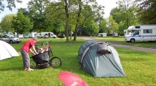 Vésenaz, Campingplatz