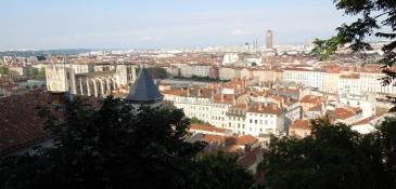 Lyon, von der Jugendherberge
