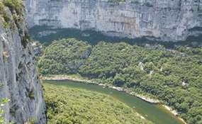 Ardèche, Belvédère de La Maladrerie