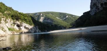 Ardèche, bei Pont dʹArc