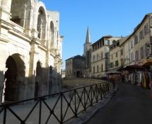 Arles, beim Amphithéâtre
