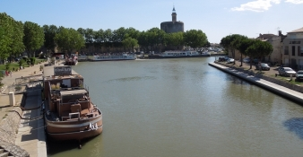 Aigues-Mortes, Canal Rhone a Sete