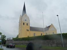 Svanninge kirke i gråvejr