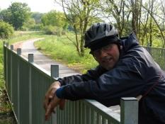 Hvil på bro på naturstien