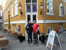 Foran Gastropub Børsen i Svendborg centrum