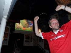 Helmuth jubler, for Bayern har vundet finalen!