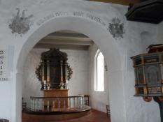 Koret i Timring kirke