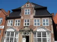 Smukt borgerhus i Storegade