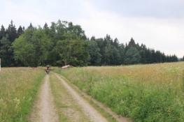 Im ehemaligen Grenzstreifen auf tschechischer Seite