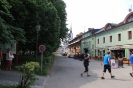 Dorfanger in Frymburk