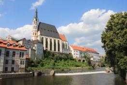 Český Krumlov, St.-Veit-Kirche