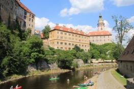 Český Krumlov, Schloss