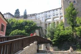 Český Krumlov, Mantelbrücke