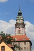 Český Krumlov, Schlossturm und Wahrzeichen der Stadt