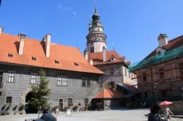 Český Krumlov, Schlosshof