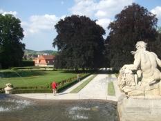 Český Krumlov, Schlossgarten