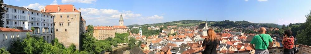 Český Krumlov, Panorama