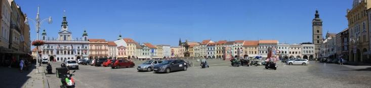 České Budějovice, Marktplatz
