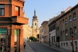 Písek, Altstadt