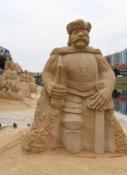 Písek, Kunst aus Sand