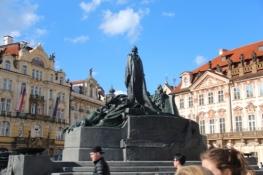 Prag, Denkmal von Jan Hus