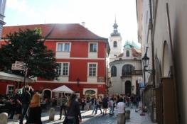 Prag, Gasse in der Altstadt
