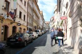 Prag, Gasse zur Burg auf der Kleinseite