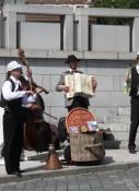 Prag, Straßenmusiker am Kleinseitener Ring
