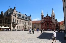 Prag, St.-Georgs-Basilika in der Prager Burg