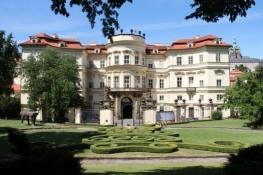 Prag, Deutsche Botschaft im Palais Lobkowitz
