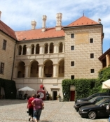 Mělník, Schlosshof