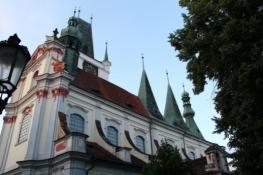Litoměřice, Dach der Stadtkirche