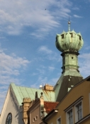 Litoměřice, Dach des Kelchhauses