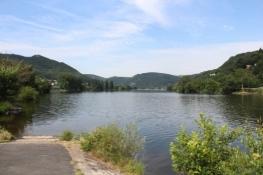 Am Elberadweg bei Brná