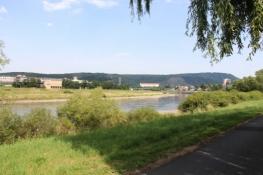 Elbe zwischen Ústí und Děčín